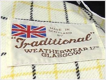 トラディショナル・ウェザーウェア/Traditional Weather Wear